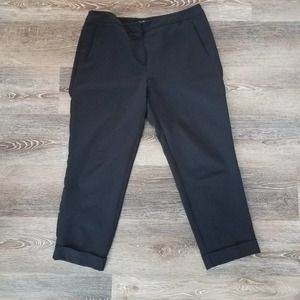 Adrianna Papell Black Dress Ankle Pants Size 12